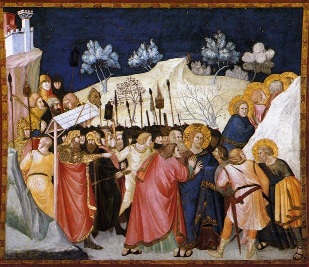 Pietro_Lorenzetti_-  La Cattura di Cristo nell'Orto _-