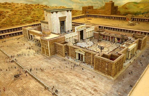 Pilato, Giuda e Matteo (III) - Gerusalemme Tempio di Erode