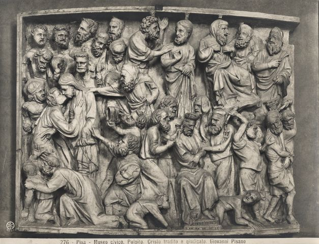 Giovanni Pisano: Episodi della Passione di Cristo