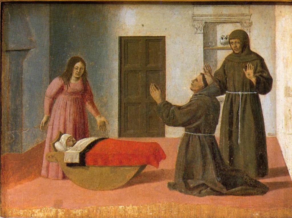 Piero, o il Pittore dell'Ineloquenza (III) - Sant'Antonio resuscita un bambino