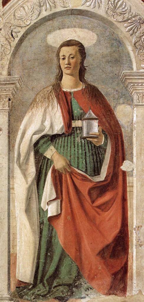 Pier della Francesca, il Pittore dell'Ineloquenza (VI)- Maria Santissima