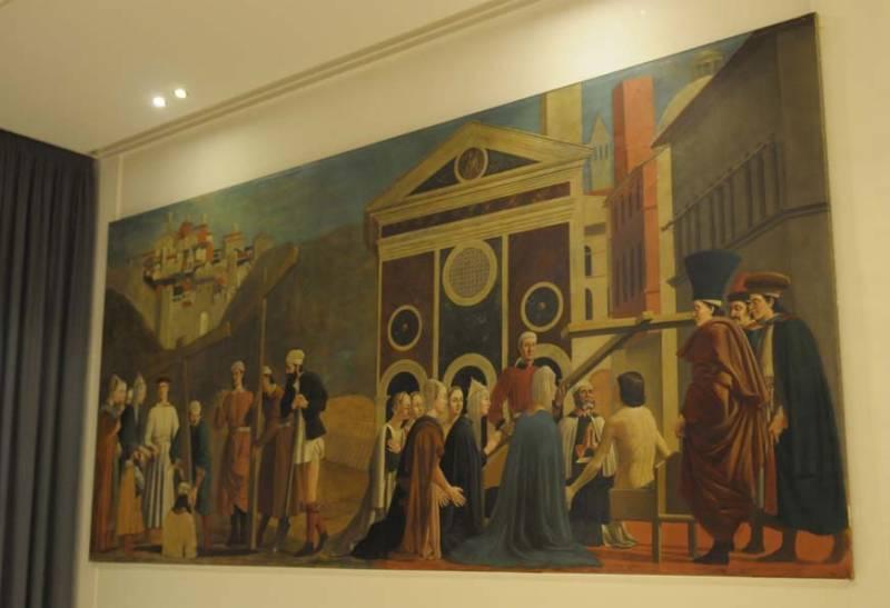 Piero, il Pittore dell'Ineloquenza (IV) La scoperta della Croce