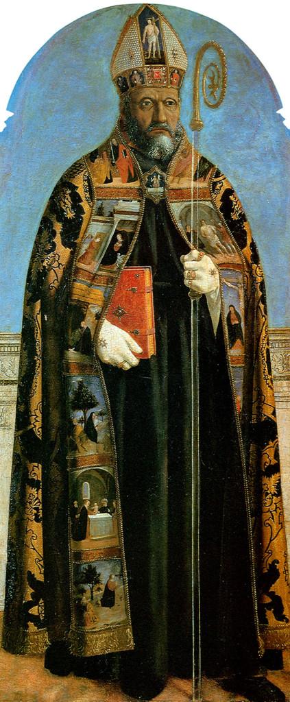 Piero, il Pittore dell'Ineloquenza (IV) Sant' Agostino