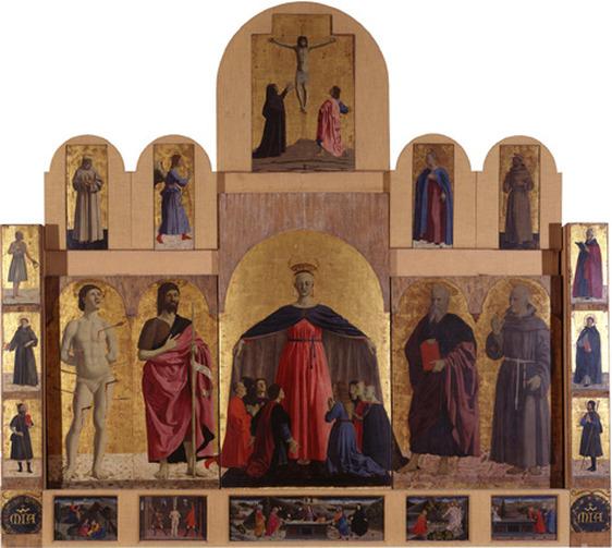Piero della Francesca, il Pittore dell'Ineloquenza (VI) - Polittico della Misericordia