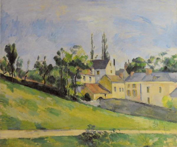 Pier della Francesca, il Pittore dell'Ineloquenza (VI) Paul Cézanne: Stada in salita. Cézanne é uno dei tanti <figli> di Piero!