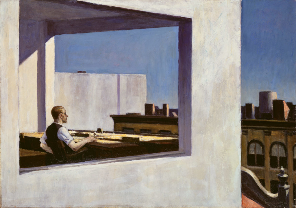Working Title/Artist: Edward Hopper: Office in a Small City
