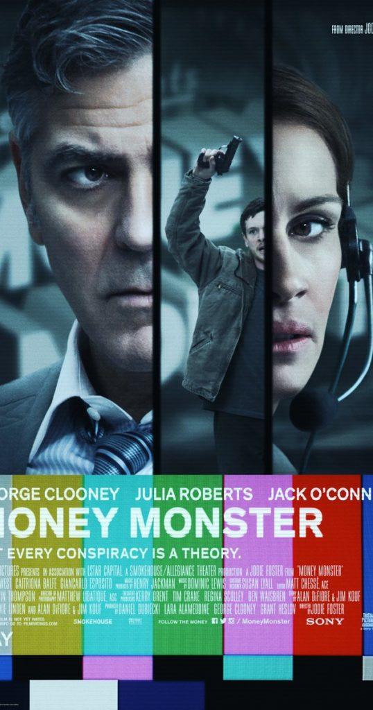Money Monster: Locandina molto old fashion