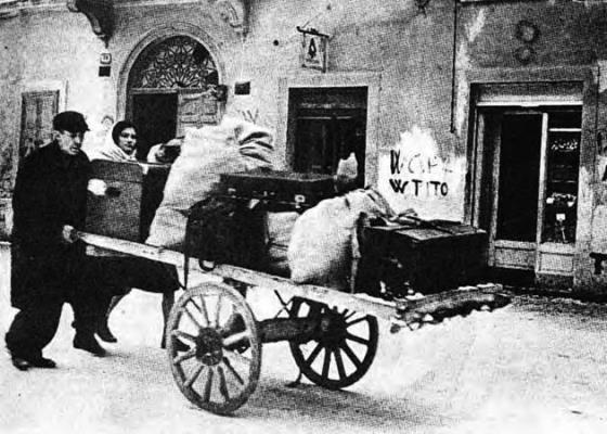 Esuli istriani dopo la fine della II Guerra Mondiale