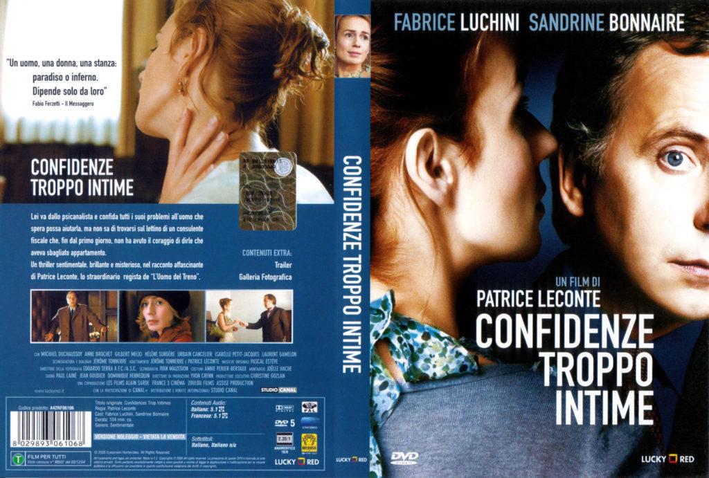 Confidenze troppo intime (2004) Sandrine  Bonnaire Locandina italiana :bella!