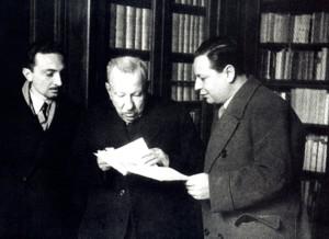 Vitaliano Brancati, Benedetto Croce, Sandro De Feo