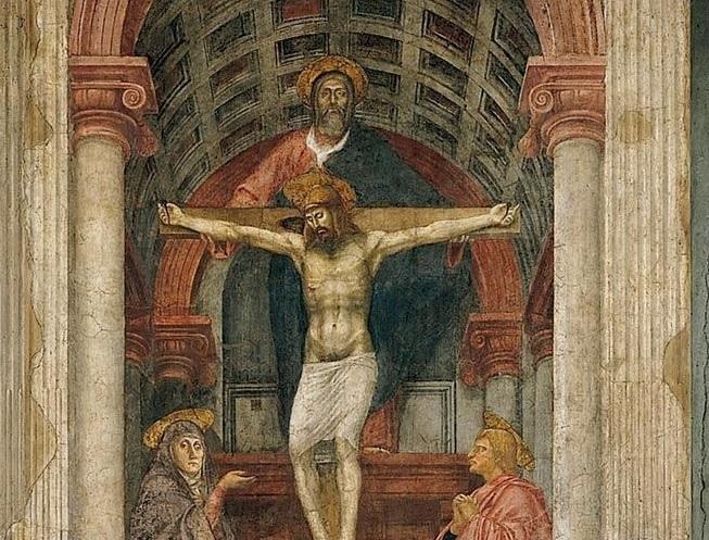 Trinità : Masaccio