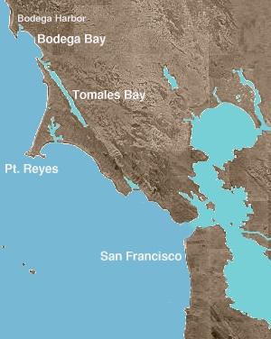 """Gli Uccelli"": Bodega Bay (1)"