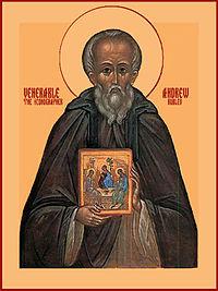 Andrej_Rublev, il monaco-pittore russo