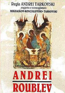 """Andrej Rublev"". Locandina del  film"