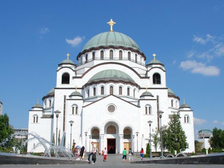 Cattedrale Ortodossa In Belgrado