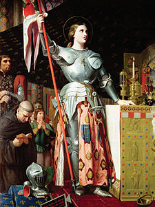 Giovanna d'Arco (2) - Quadro di Ingres