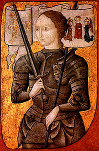 Giovanna d'Arco (miniatura XV secolo)