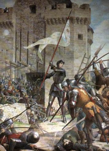 Giovanna d'Arco (2) guida l'esercito francese verso Orléans