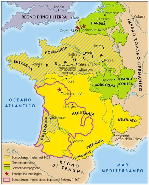La Francia di Jeanne. La Francia unita esiste grazie a una combattente diciassettenne, contadina, e illetterata, che, per premio di questa sua impresa, ebbe...il rogo!