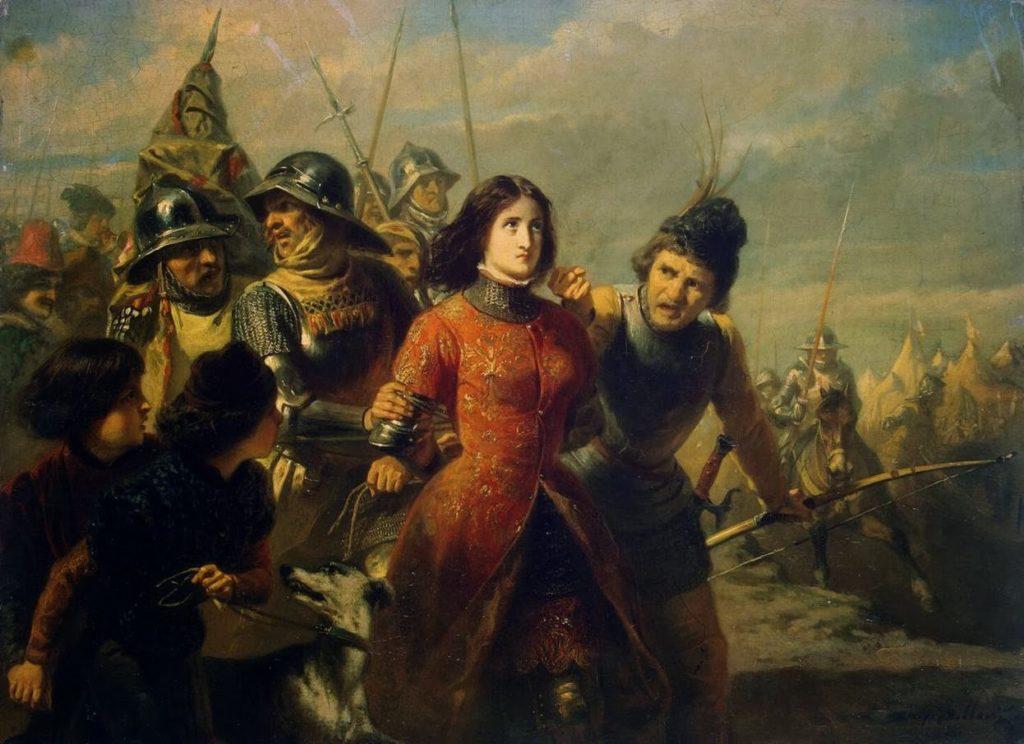 Giovanna d'Arco (2) Jeanne fatta prigioniera a Compiègne