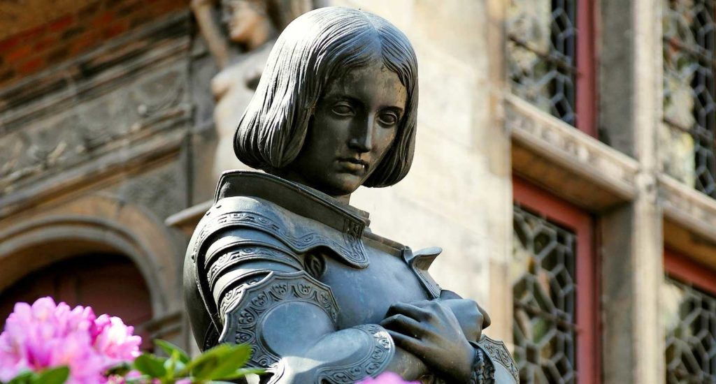 Orléans: Statua a Giovanna d'Arco
