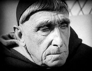 Il vescovo Cauchon nel film di Dreyer
