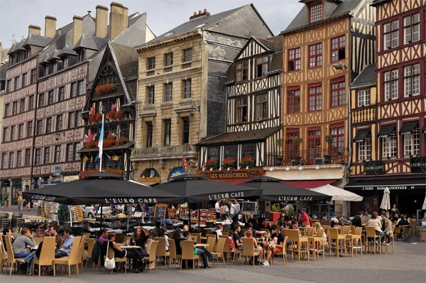 Rouen : Attuale Centro Storico