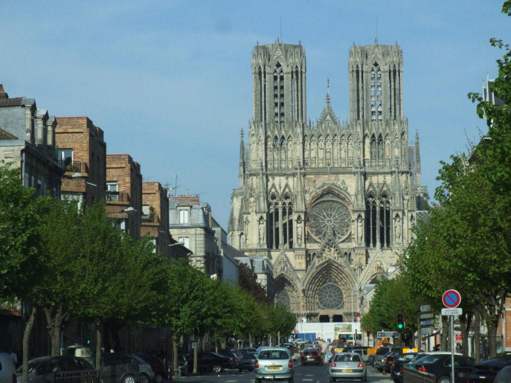Reims- Cattedrale di Notre Dame