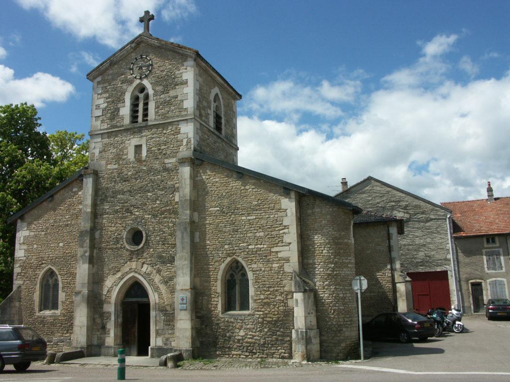 Domrémy - Chiesa di Saint-Rémy - Facciata