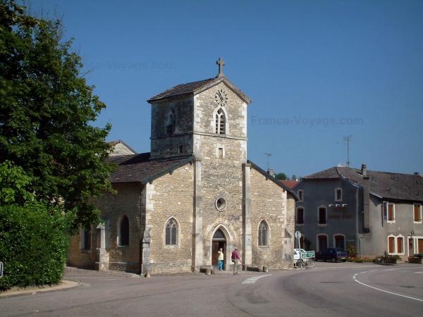 Domrémy - paese natale di Jeanne. Chiesa di Saint Rémy