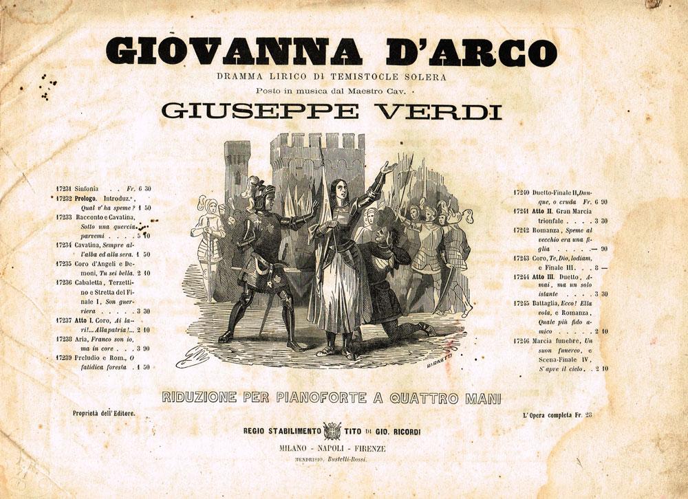 Giovanna d'Arco di Giuseppe Verdi