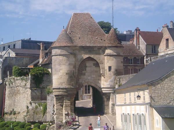 Piccardia -Laon : La-porte-Dardon