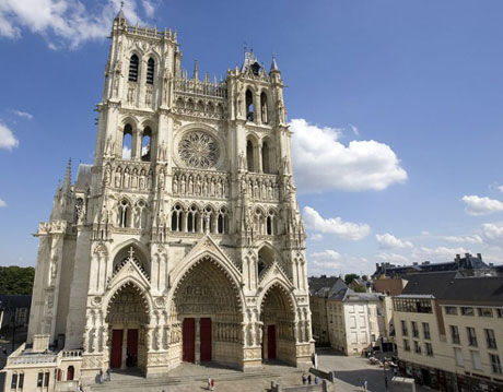 Piccardia- Amiens Chiesa Cattedrale