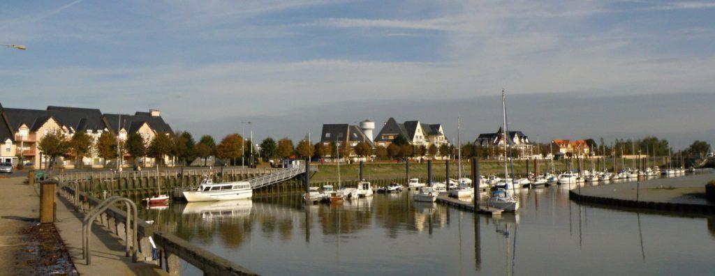 Piccardia (Francia): Le Crotoy, il porto