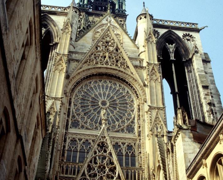 Rouen Cattedrale Facciata