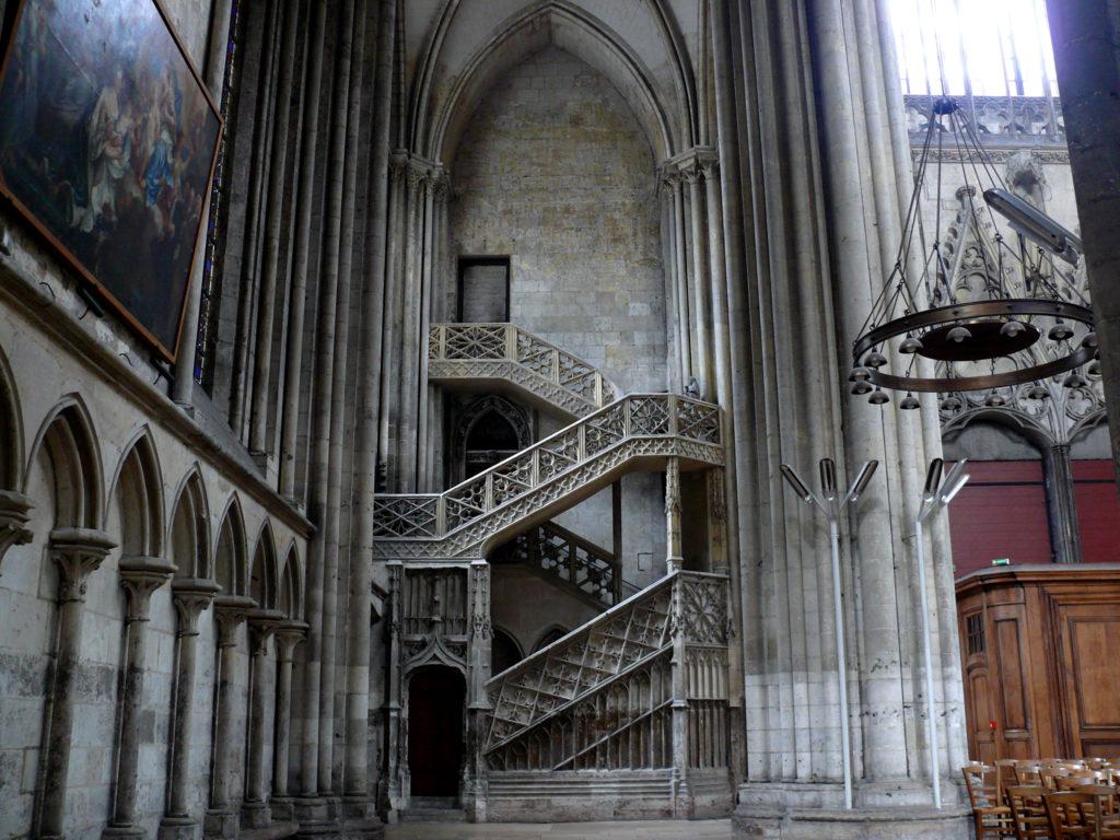 Rouen Cattedrale - Scala Interna