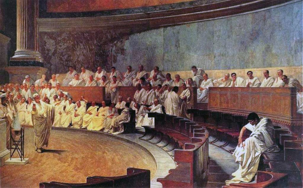 1) Cesare era dietro Catilina?