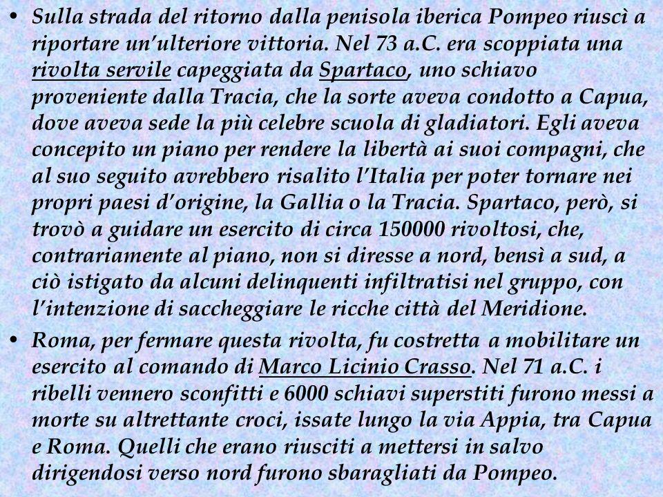 Marco Licinio Crasso, Spartaco, e le Guerre Servili