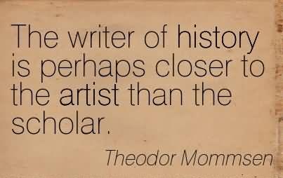 Theodor Mommsen: Il compito dello Storico