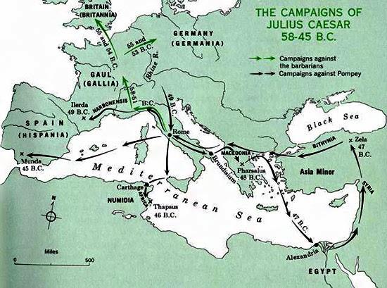 Le campagne di Cesare
