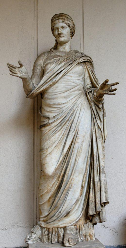 Statua di Agrippina Maggiore (Museo Archeologico di Palermo)