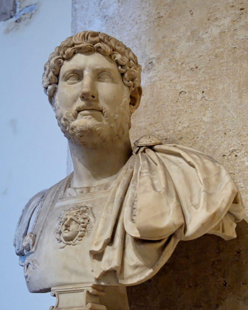 Busto di Adriano Musei Capitolini