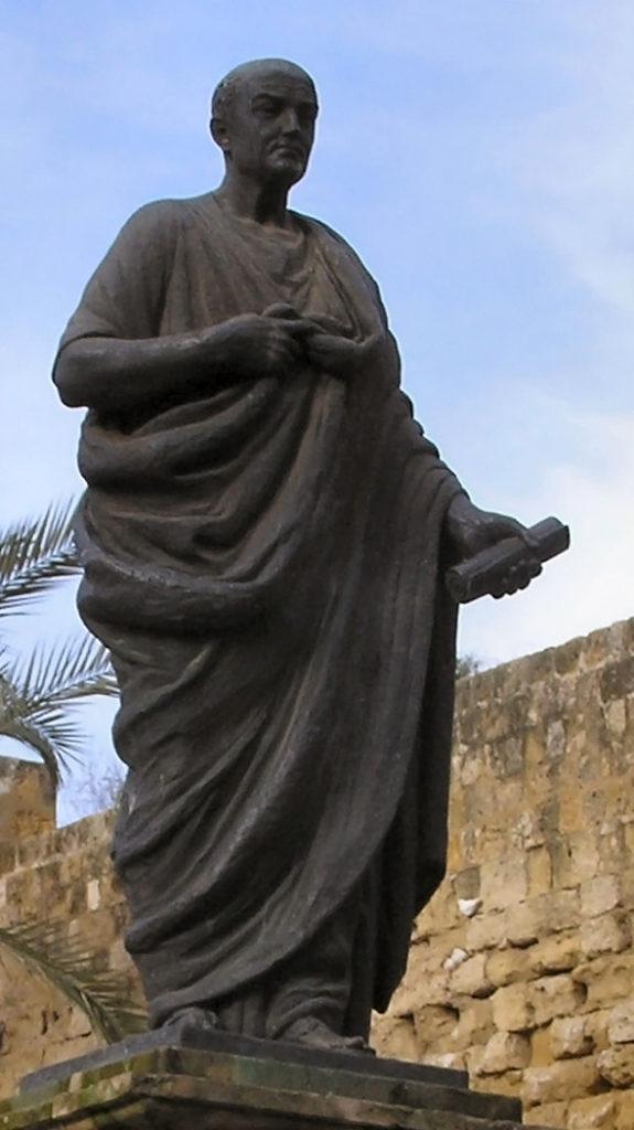 Statua dedicata a Seneca; Cordova (Spagna)