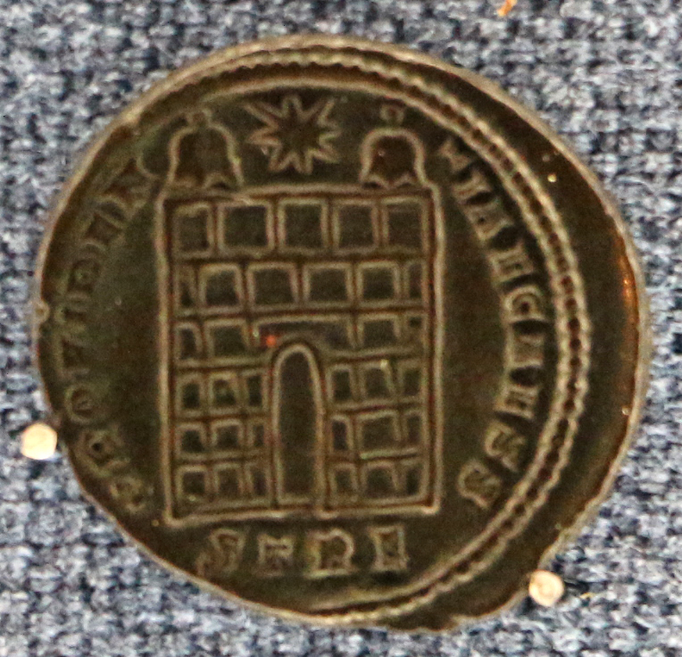 Treviri- Costanzo II Cesare 327-328 dC