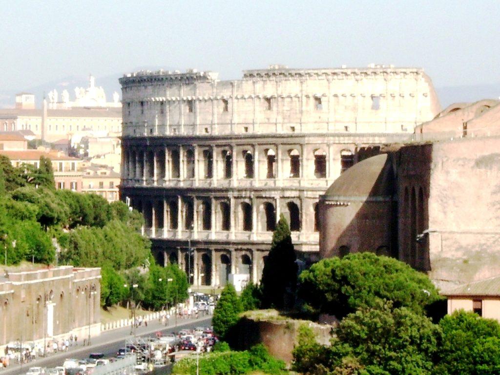 Anfiteatro Flavio, iniziato nell'anno 72 d.C.
