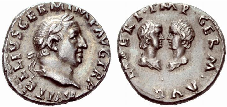 Aulo Vitellio: monete