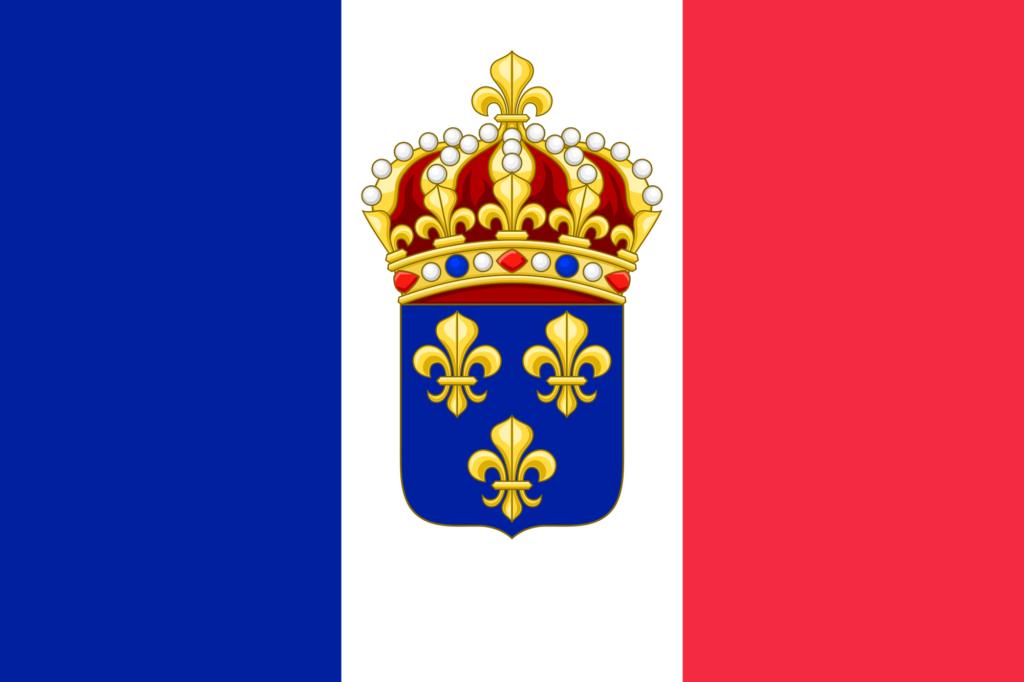 Bandiera del Regno Costituzionale di Francia (proposta)