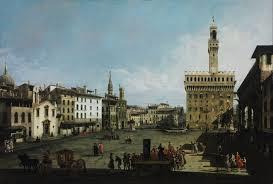 Bernardo  Bellotto- Piazza Signoria( Firenze)