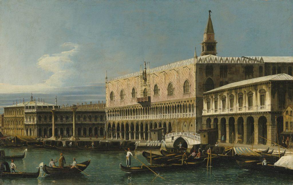 Bernardo Bellotto- Palazzo Ducale (Venezia), visto dal Molo