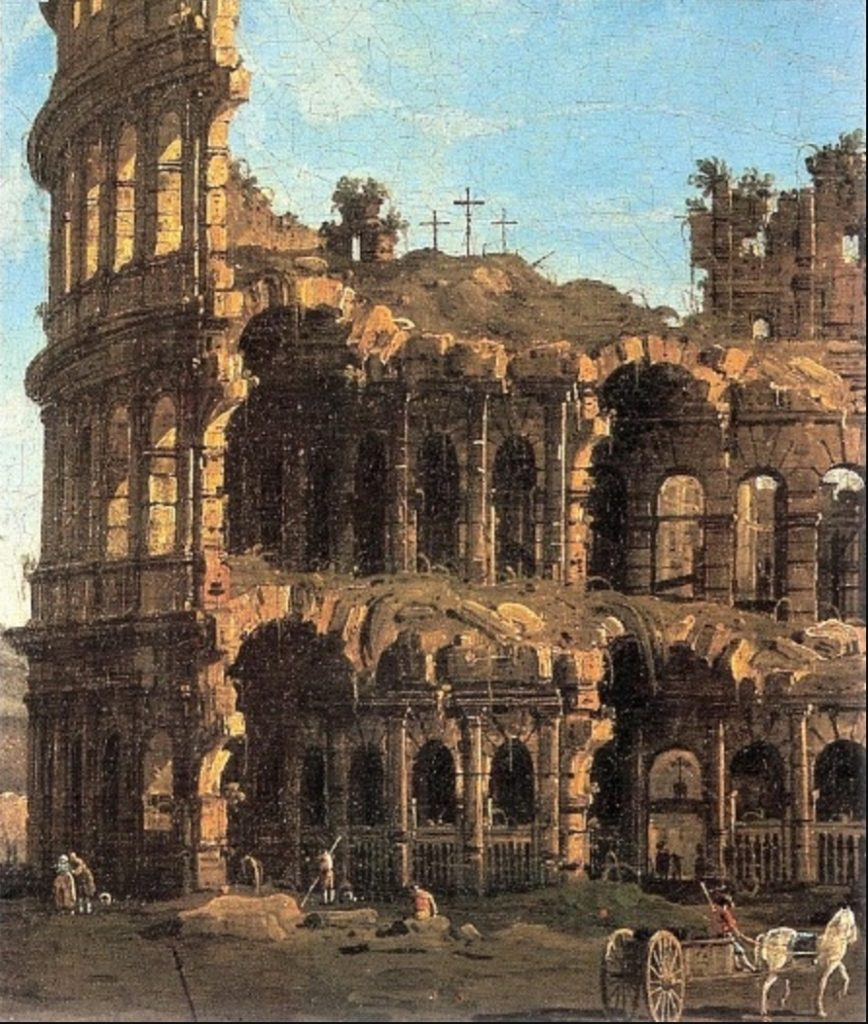 Bernardo Bellotto-Colosseo (veduta)